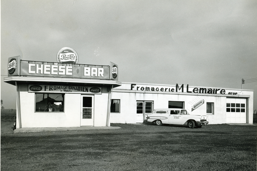 Fromagerie Lemaire 1956